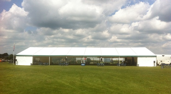 marquee being used