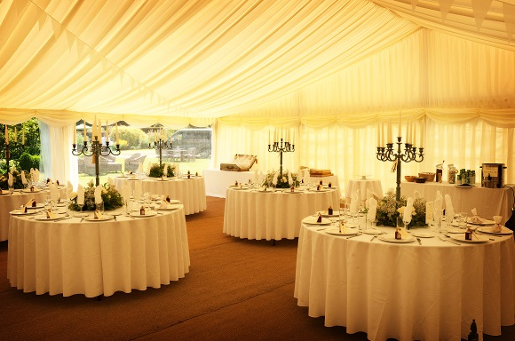 Weddings Range In Size Of Guests Hugely From Immediate Family Up To Hundreds One The Beautiful Aspects A Marquee Wedding Is Flexibility