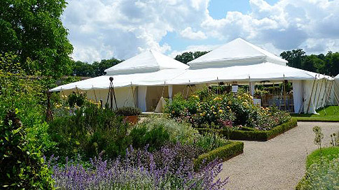 Moghul tent – image courtesy of The Pearl Tent Company