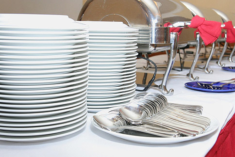 Catering Equipment Hire – Crockery and Cutlery