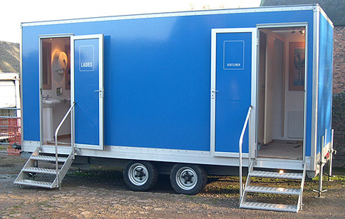 Toilet trailer – image courtesy of Jobec UK Ltd