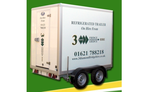 3 Diamond Fridge Hire image
