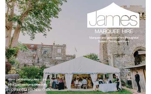 James Marquee Hire image