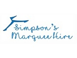 show details for Simpson's Marquee Hire