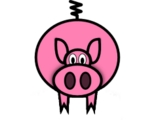 The Giddy Pig> logo