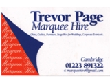 Trevor Page Marquees> logo