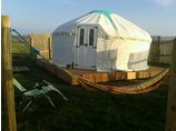 show details for West Kellow Yurts Cornwall Polperro