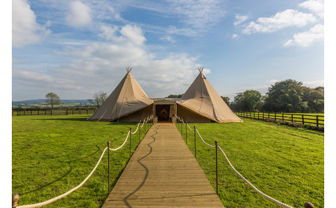 White Bison Tipi Hire image